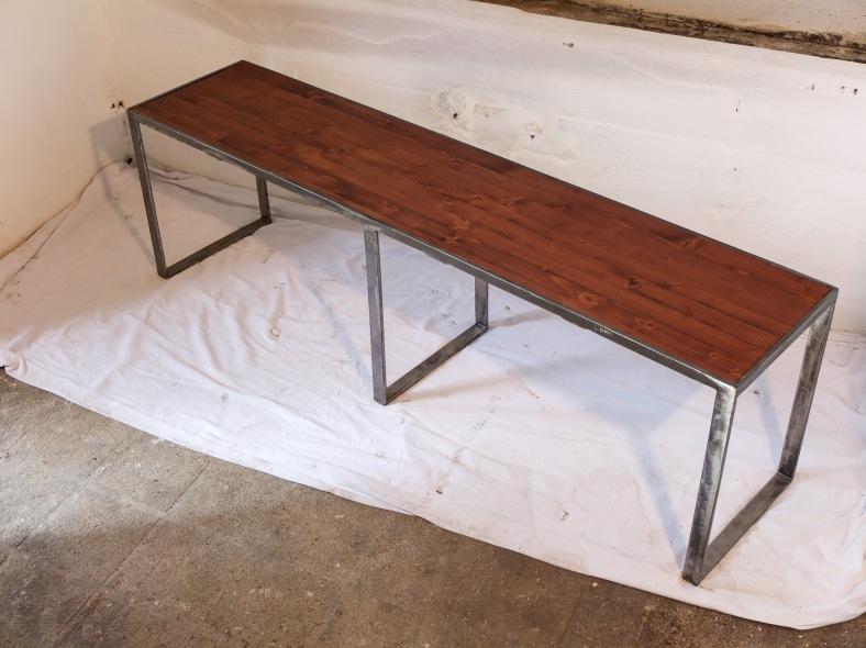 banc pied de lit l 39 atelier de stefinox. Black Bedroom Furniture Sets. Home Design Ideas