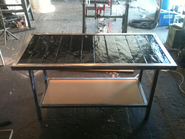 Table Basse Ardoise L 39 Atelier De Stefinox